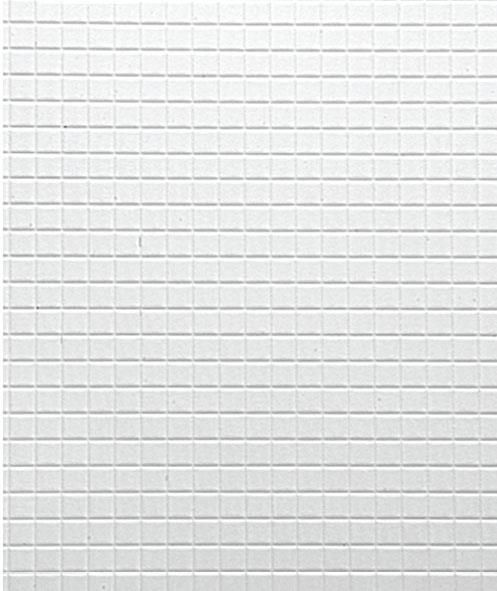 Embossed Square Tile PVC Sheet Maquette
