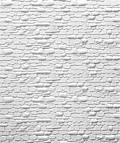 Embossed Stony Wall PVC Sheet Maquette