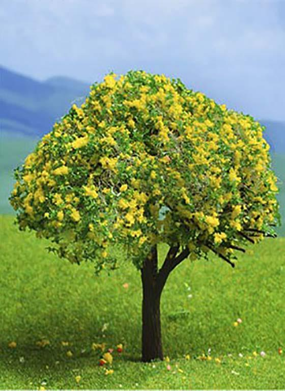 Tree with Yellow Blossoms